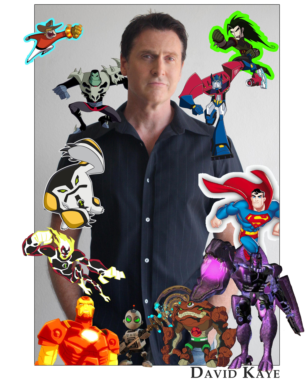 David Kaye Character Collage - David Kaye - Voice Over ... David Kaye Voice