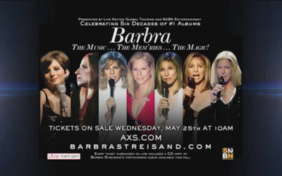 Barbra Streisand On Tour