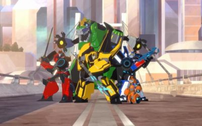 Transformers: Robots in Disguise Airs on the Cartoon Network