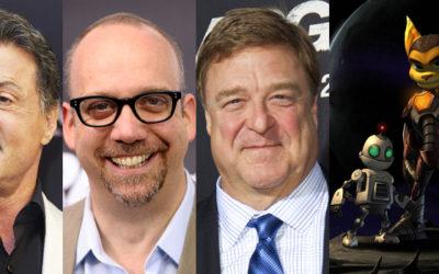 Paul Giamatti, John Goodman, Sylvester Stallone Lead Voice Cast of 'Ratchet & Clank