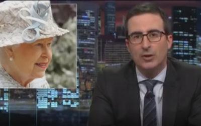 John Oliver Slams 'Pointless' Queen Elizabeth