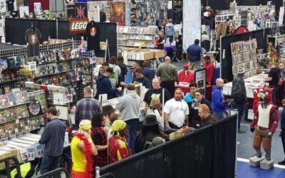 David Kaye at Great Lakes ComicCon