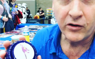 David Kaye's Yes Button at Great Lakes ComicCon