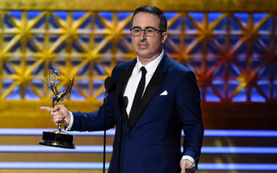 David Kaye at the Emmys