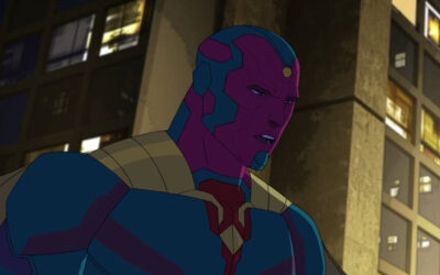 The Avengers Face Off Against Cobalt Man